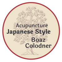 Logo for acupuncture japanese style